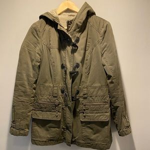 Excellent condition utility jacket size M